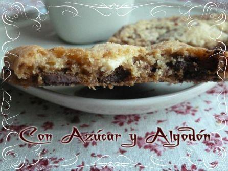 Cookies de tres Chocolates
