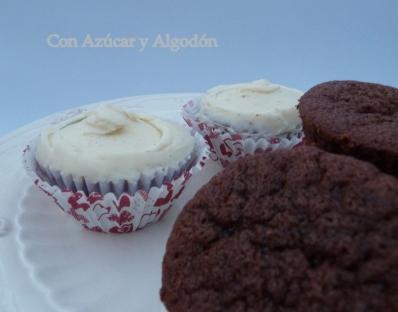 Cupcakes de Chocolate muy esponjosos