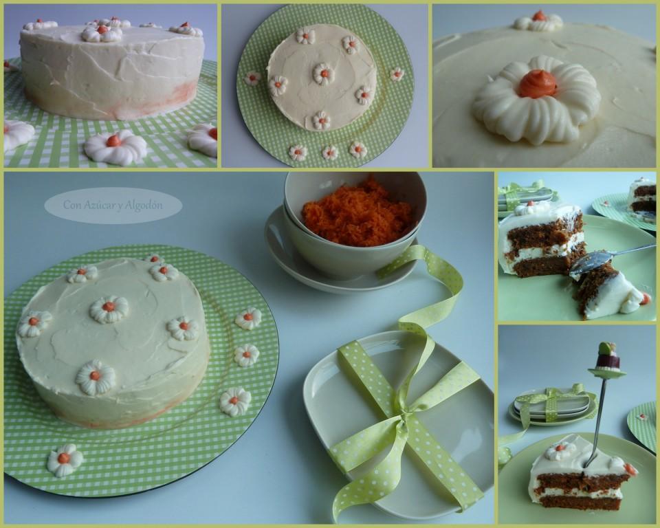 Tarta de Zanahoria o Carrot Cake
