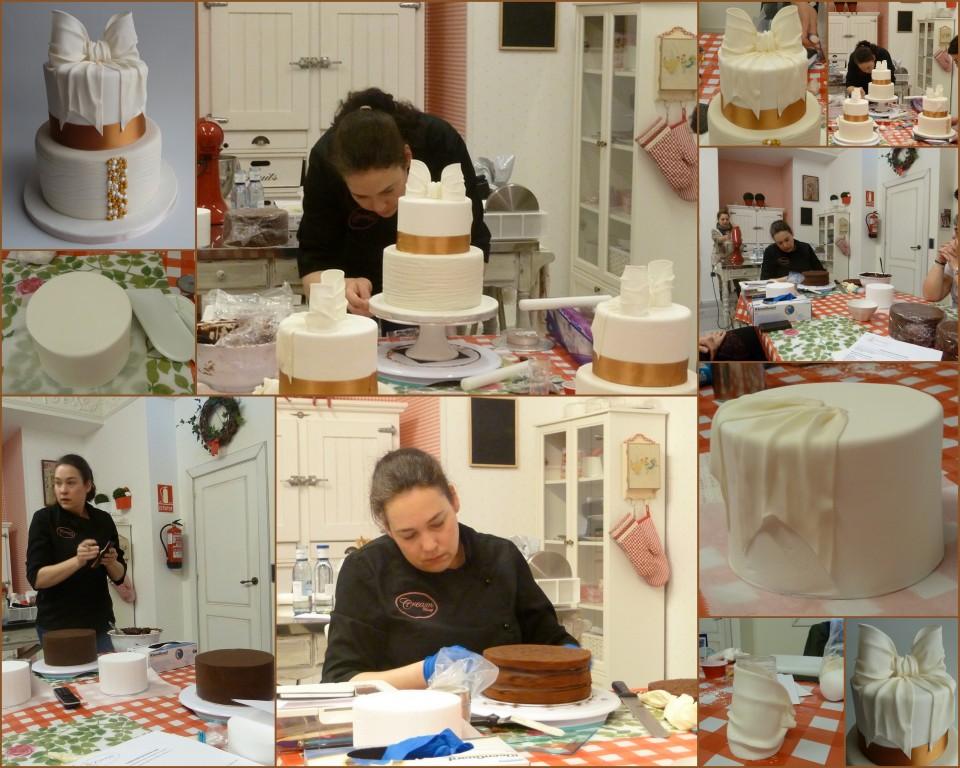 Curso en Aliter Dulcia con Paula de  Cream Bakery