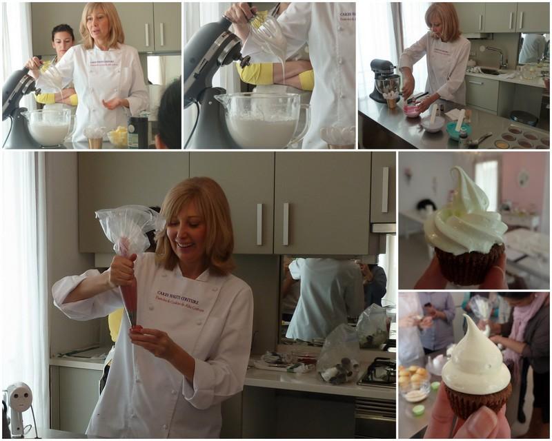 Curso de Cupcakes en Cakes Haute Couture