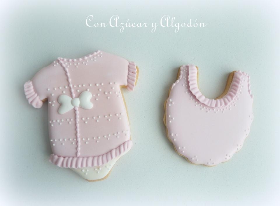 Galletas decoradas de bebé | Con Azúcar y Algodón