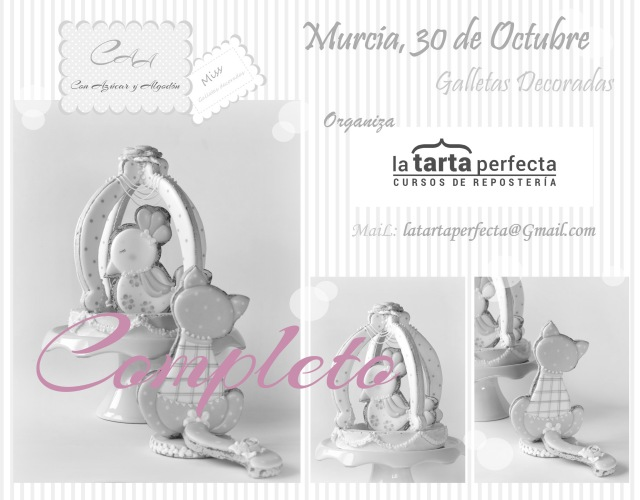 curso de galletas decoradas Murcia